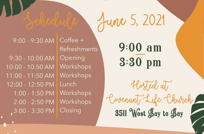 Schedule Gather & Grow Women's CLC Event